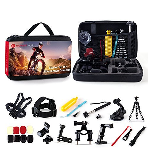 Element Works 26-Piece Starter Kit for your GoPro