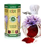 Exir Saffron Powder Pure and Organic | Mood & Energy Enhancer