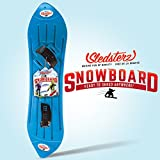 Sledsterz The Original Snowboard by Geospace: Blue