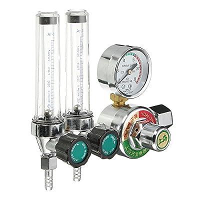 Dual Backpurge 2.5 MPA Mig Flow Meter AR/CO2 Gas Argon Welding Weld Regulator