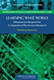 img - for Learning What Works: Infrastructure Required for Comparative Effectiveness Research: Workshop Summary (Learning Health System) book / textbook / text book
