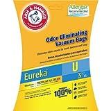 baking soda generic - Arm & Hammer 9-Pack Odor Eliminating Vacuum Bags, Eureka U Premium Allergen