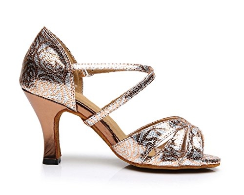 TDA - Zapatos de tacón  mujer dorado