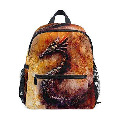 Vintage nbsp;Girls nbsp;Bag Kids nbsp;for nbsp;School nbsp;Backpack Dragon nbsp;Book nbsp;Toddler Animal Boys ZZKKO Pd06qwHq