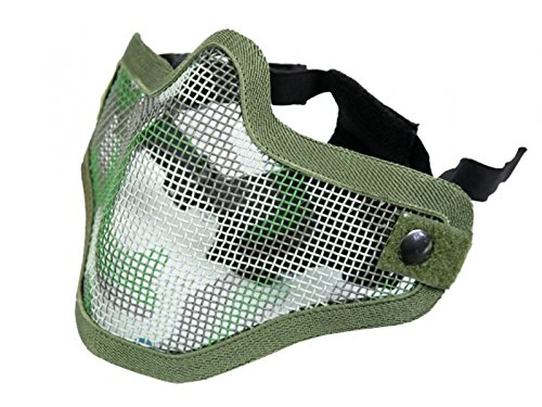 BRAVO TacGear Mesh Half Mask Jungle Camo