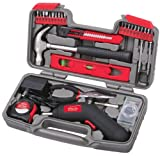 Apollo Precision Tools DT9707 - 30 Piece Household Tool Kit with 4.8 V Cordless Screwdriver