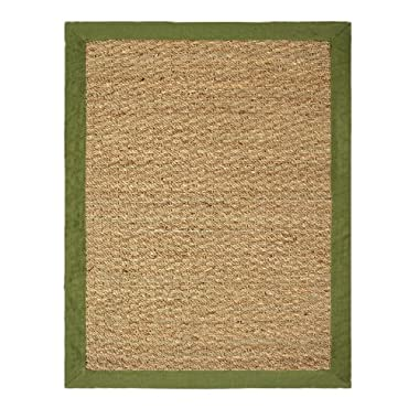 Chesapeake Seagrass 5-foot by 7-foot Area Rug, Sage