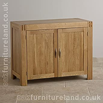 Alto Natural Solid Oak Small Sideboard By Oak Furniture Land