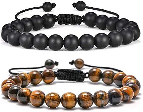 Tiger Eye Mens Bracelet Gifts product image