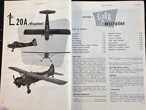 Flight Handbook and Maintenance Instructions for Model L-20A - Havilland Beaver De