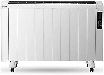 Zxmdp Elektrische Warmtestraler Van Aluminium Met Timer Thermostaat En Afstandsbediening Wand Zelfdragend Smal Verwarmingspaneel Wit Amazon Nl