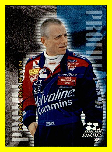 2000 Press Pass NASCAR RACING Stealth Profile #PR6 Mark Martin