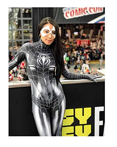 Black Cat Cosplay Costume | Symbiote Black Cat Suit | Spider-Man Costume | Black Cat Suit (Small) for $<!--$64.99-->