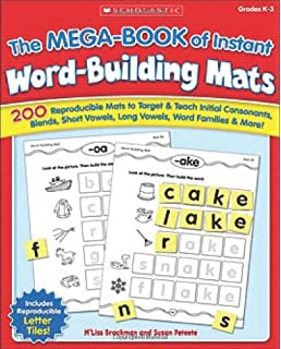Amazon 20 week by week word family packets an easy system for the mega book of instant word building mats 200 reproducible mats to target fandeluxe Image collections