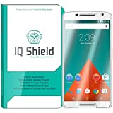 Motorola Droid MAXX 2 Screen Protector, IQ Shield® Tempered Ballistic Glass Screen Protector for Motorola Droid MAXX 2 (Moto X Play) 99.9% Transparent HD and Anti-Bubble Shield -with Lifetime Warranty