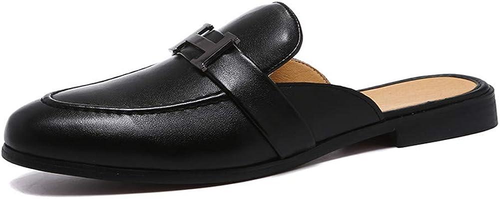 LEOED Backless Loafers for Men