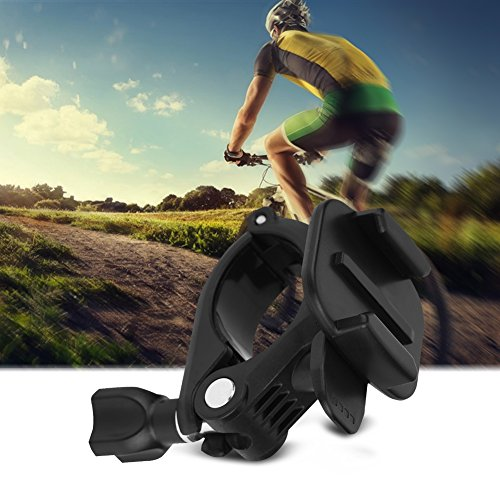 Bike Camera Mount, Bicycle Handlebar Mount Holder Fixed Base Clamp by VGEBY (Image #6)