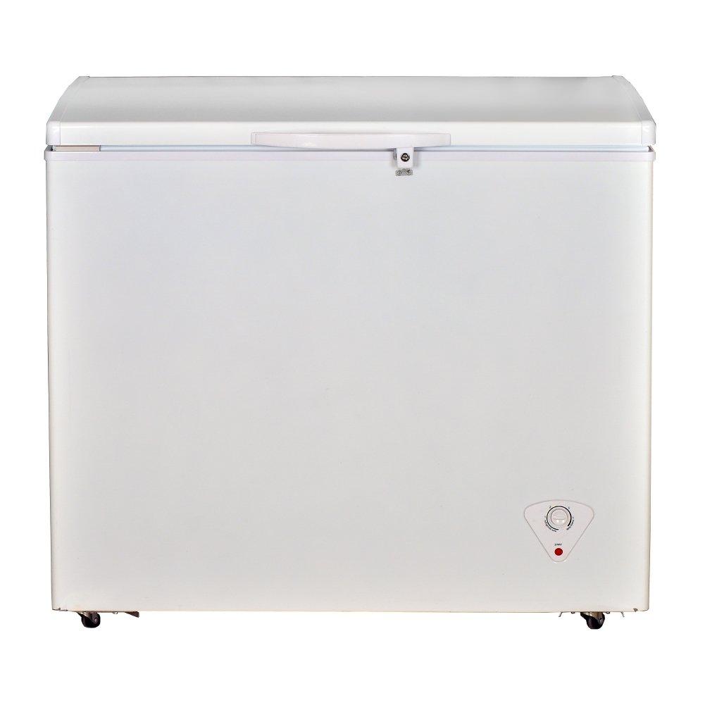 Smad Commercial Chest Freezer Solid Top Single Door Solar Powered,8.3 Cu.ft.