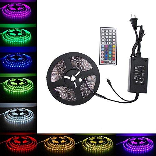 Waterproof 5M 3014 LED Strip RGB 12VDC - 8