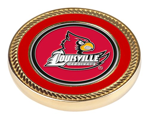 - NCAA Louisville Cardinals - Challenge Coin / 2 Ball Markers