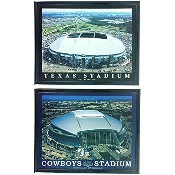 Amazon Com Football Dallas Cowboys Stadium Framed Print