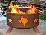Patina Products F102 Texas State and Stars Fire Pit For Sale