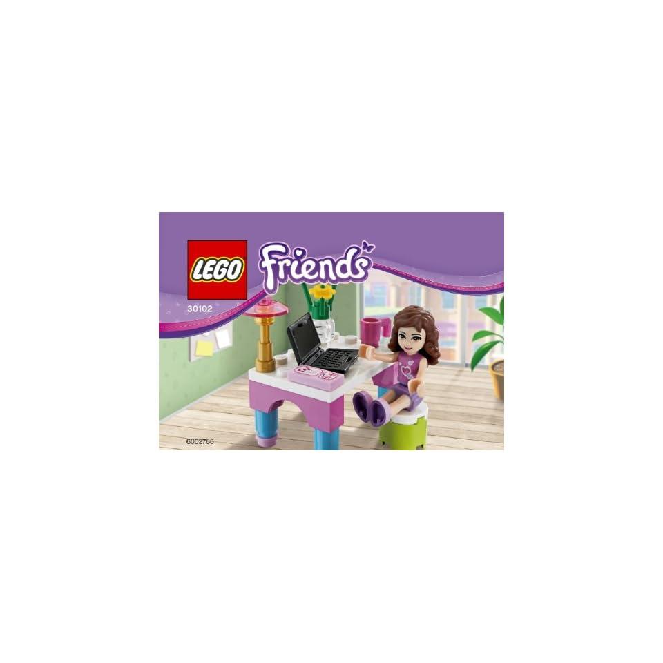 Friends Olivia Schreibtisch mit Laptop 26 Teile Spielzeug