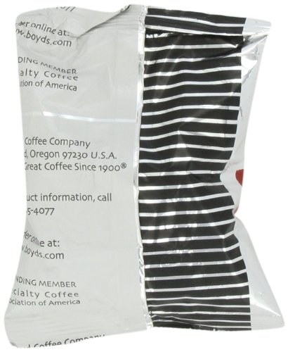 Boyd's Coffee Ground Coffee, Original Roast, 2.5-Ounce Portion Packs (Pack of 50)