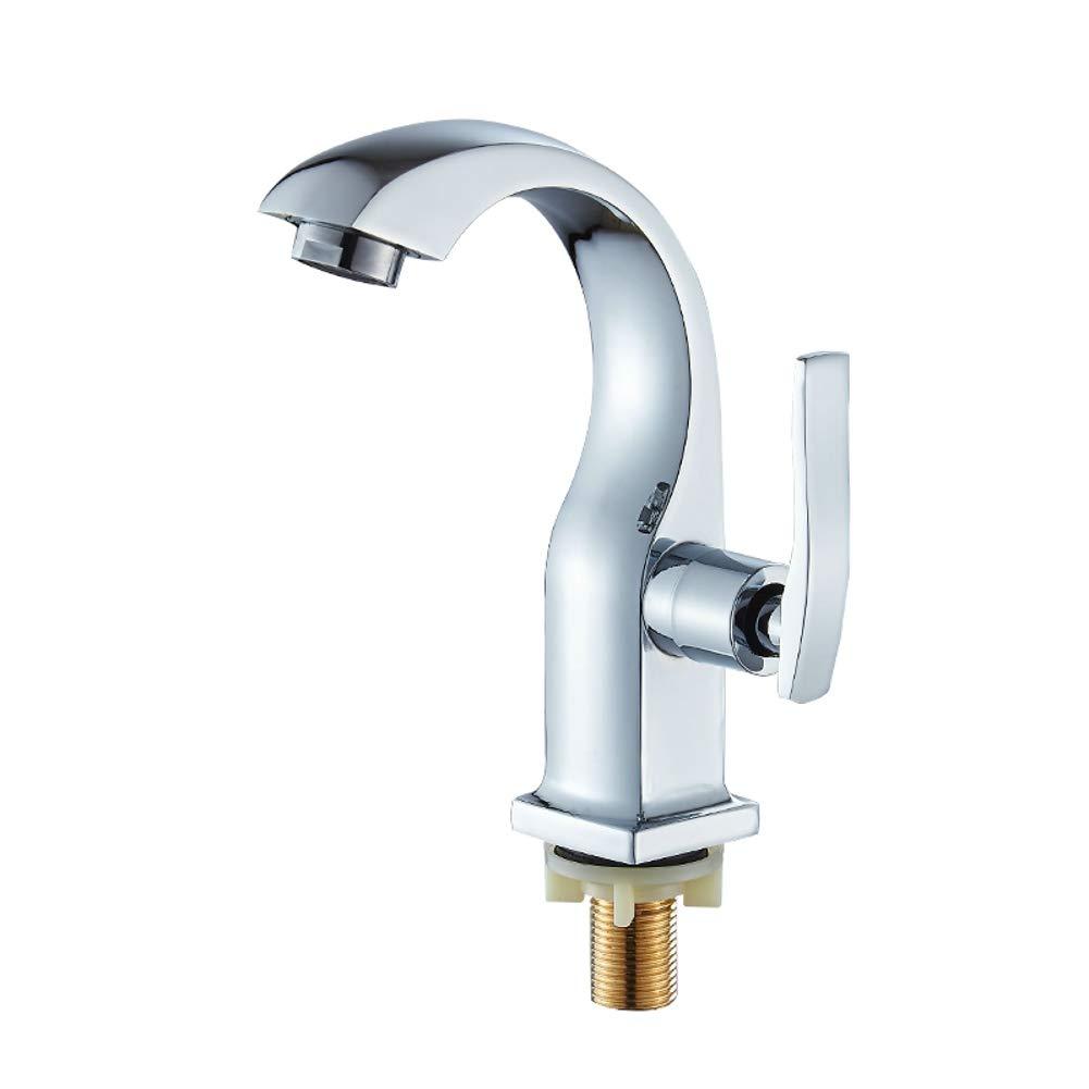 Mlycn Einzelkalt Waschbecken Wasserhahn Kupfer Waschbecken Waschbecken Bad Eitelkeit Waschbecken Wasserhahn