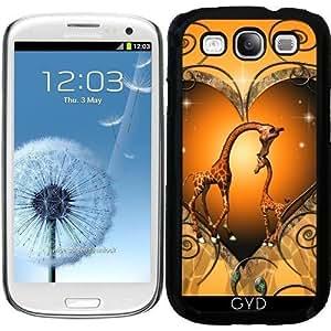Funda para Samsung Galaxy S3 (GT-I9300) - Lindo Madre Jirafa by nicky2342