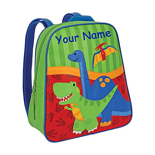 Stephen Joseph Personalized Little Boys' Go Go Dinosaur Backpack With Name -