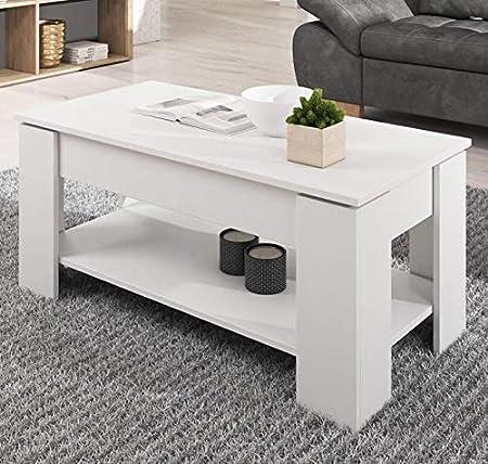 muebles bonitos Mesa de Centro elevable Nicoleta Color ...