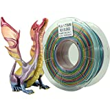 Stronghero3D 3D Printer PLA Filament Rainbow Splendid 1.75mm - 1KG(2.2LB) - Accuracy +/-0.05mm