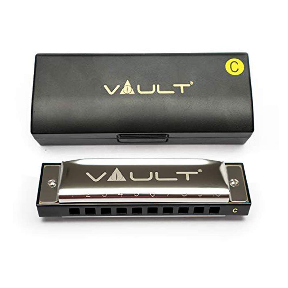 Vault HA1000 Key C 10-Hole Beginner Harmonica product image