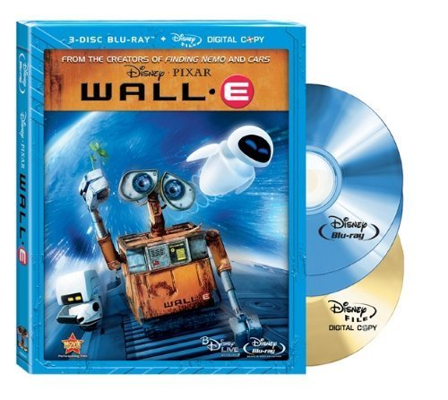 Wall-E (Three-Disc Special Edition + Digital Copy and BD Live) [Blu-ray] by Disney-Pixar