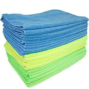 Zwipes Microfiber Cleaning Cloths (36-Pack) Assorted Colors