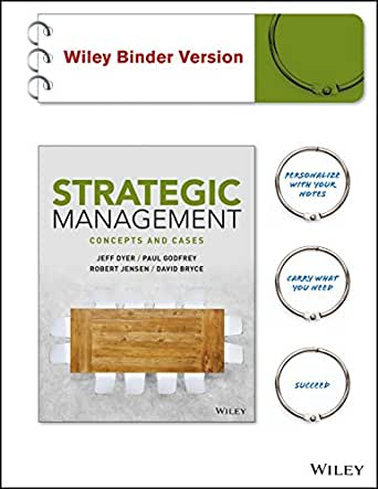 strategic management case 3 Successful strategic management must not end with the last annual meeting or with the final compilation of the strategic  strategic management: 3  case when.