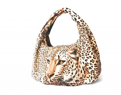 Lee Sands Women's Leopard Hobo Bag 17