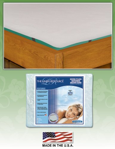Anchor Band Contour Fit Mattress Pad by Innomax, Super Single ()
