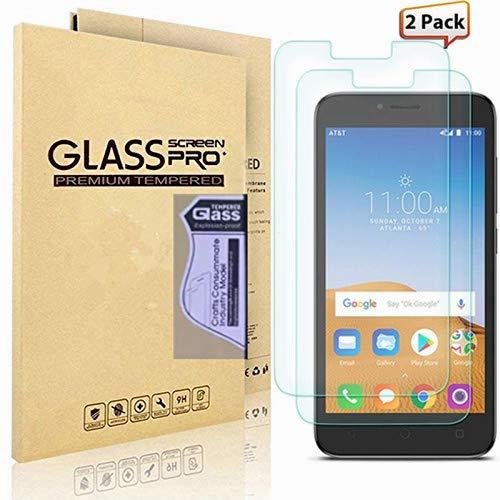 [2-Pack] Alcatel Tetra Screen Protector, Alcatel 5041C Screen Protector,  L00KLY Premium [9H Hardness] [High Definition] [Anti-Fingerprint]