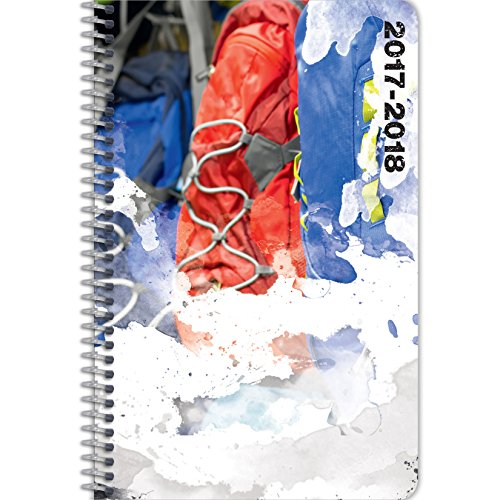 Student Planner for the 2017 - 2018 School Year for Middle School / High School Kids - By School Datebooks