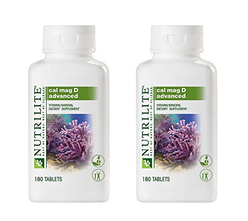 Nutrilite Cal Mag D Advanced 180 Tablets Prevent Osteoporosis Maintain Good Overall Health By - Not Tracking Found Usps