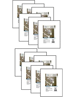 Amazoncom Mainstays 8x10 Matted To 5x7 Format Picture Frame Set