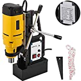 Mophorn Magnetic Drill 1350W Magnetic Drill Press with 1'' Boring Diameter Annular Cutter Machine 3372 LBS