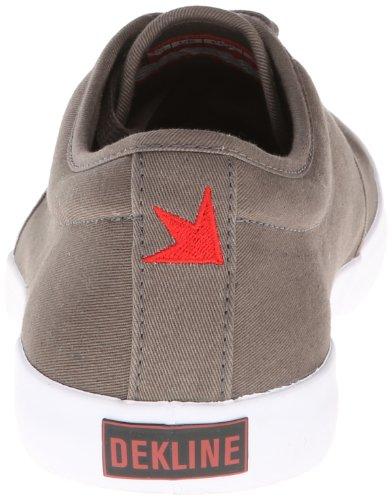 unisex skate de Zapatillas de tela River 602623 1 Dekline Gris qnTZFRn