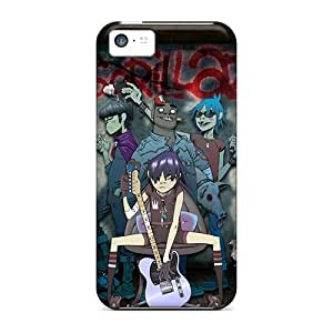 Awesome Case Cover/iphone 5c Defender Case Cover(gorillaz)