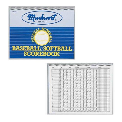 markwort-baseball-softball-scorebook-23-games