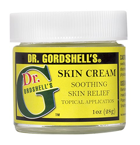 Dr. Gordshell's Skin Cream Soothing Topical Application 1oz Treats Eczema Boils Rashes Bug Bites Itching Burns, and (Topical Skin Cream)