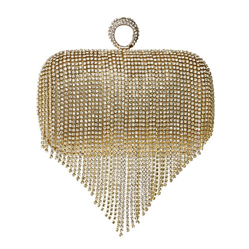 Clutch Dinner Bag Tassel Purse Evening Party Bags Women And Beaded E Party Wedding Clutch Evening For fwnfxBXqa