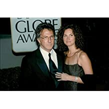 Vintage photo of Dustin Hoffman with Mrs Lisa at the Golden Globe Awards